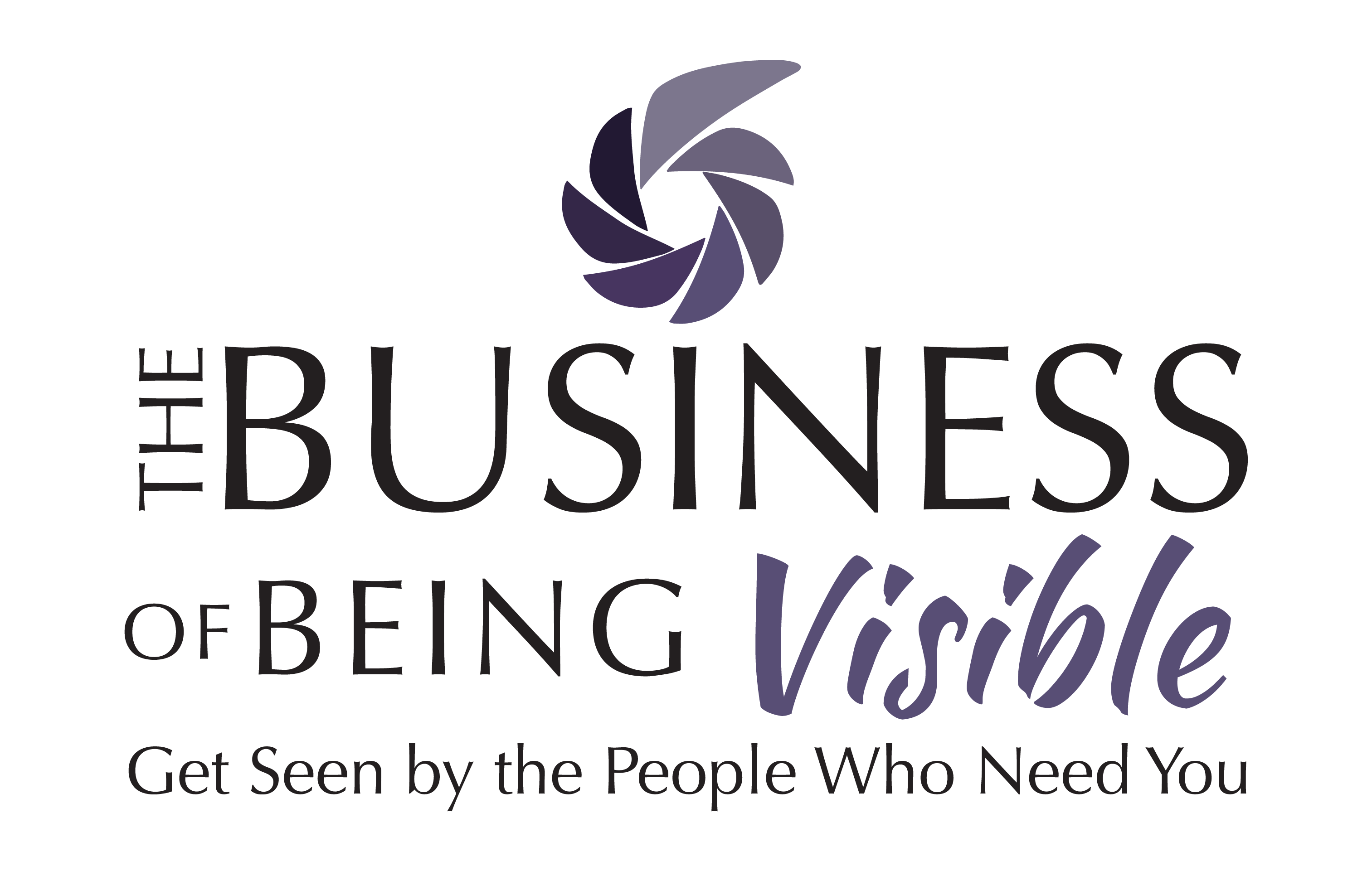 The Business of Being Visible Logo 01